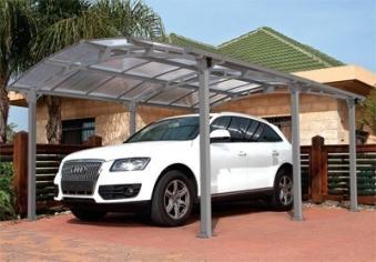 carport arcadia 5000 aluminium kunststoff 362x502x242cm. Black Bedroom Furniture Sets. Home Design Ideas