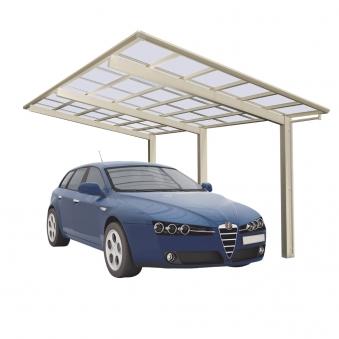 Carport XIMAX Linea Aluminium Typ 110 Standard ES 495x273x244cm Bild 1