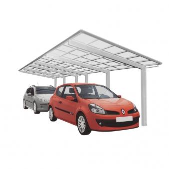 Carport XIMAX Linea Aluminium Typ 110 Tandem ES 983 x273x244cm Bild 1