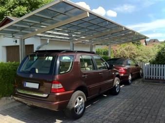 Carport XIMAX Linea Aluminium Typ 110 Tandem ES 983 x273x244cm Bild 3