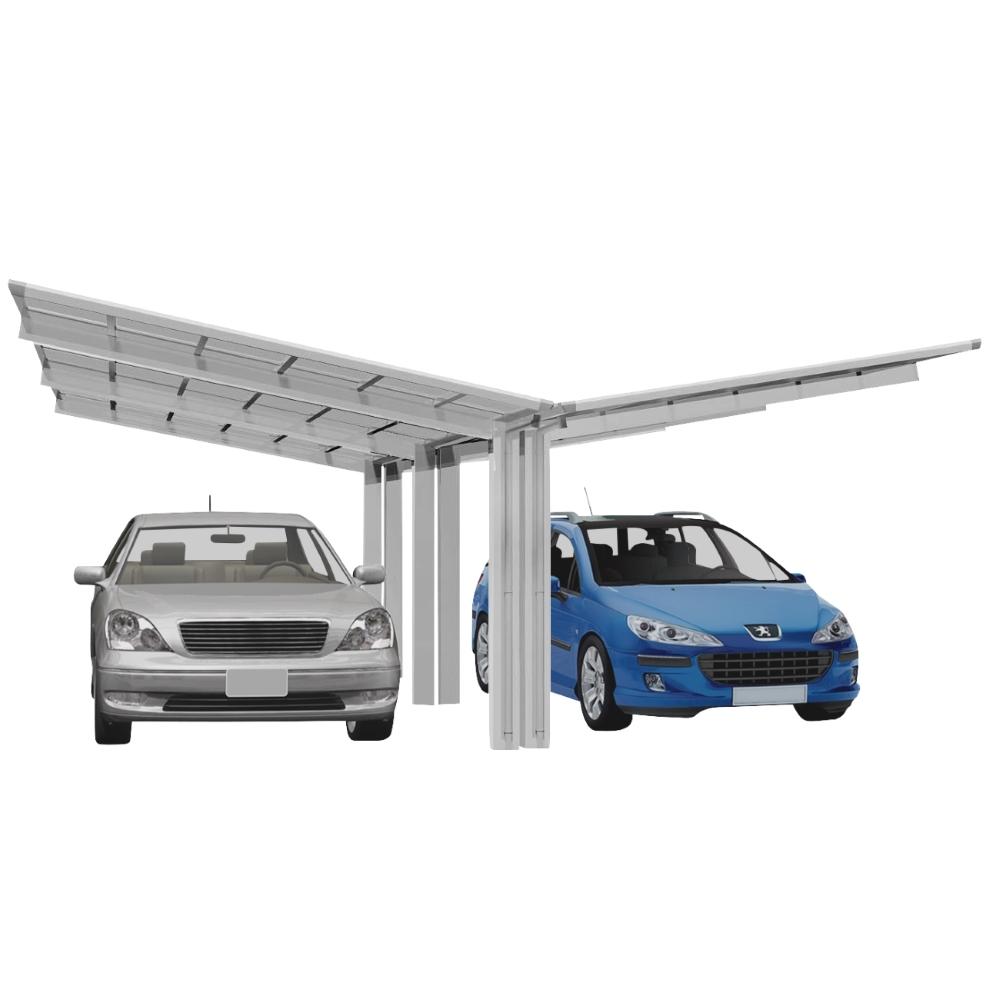 Carport XIMAX Linea Aluminium Typ 110 Y ES 495x548x244cm Bild 1
