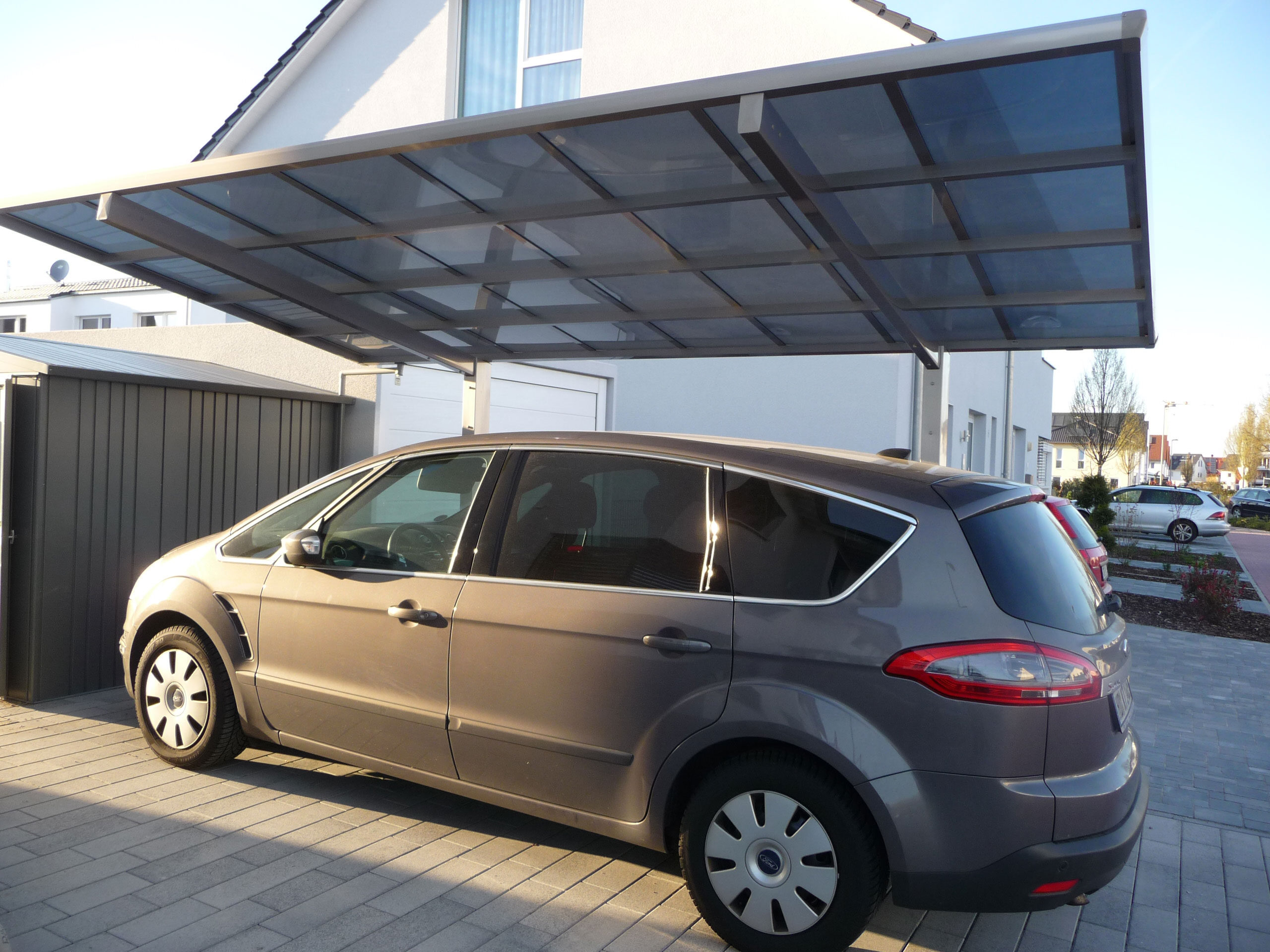 Carport XIMAX Linea Aluminium Typ 60 Standard ES 495x273x244cm Bild 3