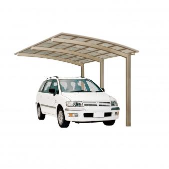 Carport XIMAX Portoforte Alu Typ 110 Standard ES 495x270x248cm Bild 1