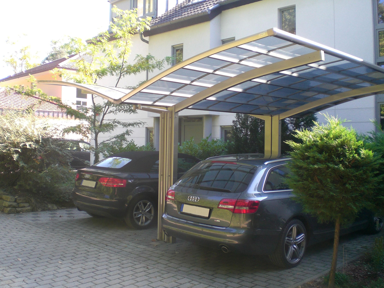 Carport XIMAX Portoforte Alu Typ 110 Y ES 495x543x248cm Bild 3