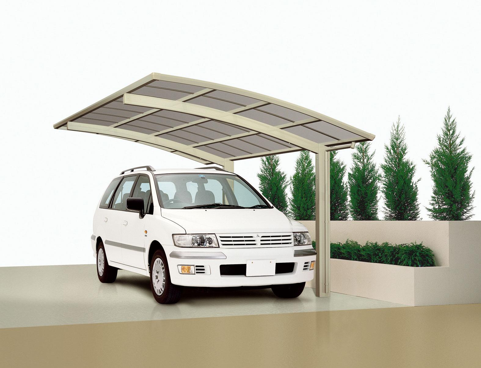 carport ximax portoforte aluminium typ 60 standard es. Black Bedroom Furniture Sets. Home Design Ideas