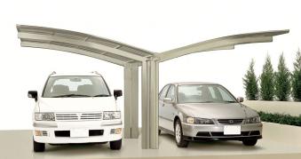 Carport XIMAX Portoforte Alu Typ 60 Y ES 495x543x248cm Bild 1