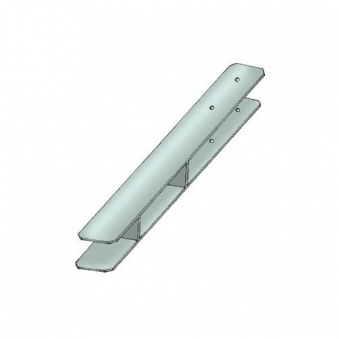 Pfostenanker / H-Pfostenanker Karibu 9x9cm Länge 60cm Bild 1