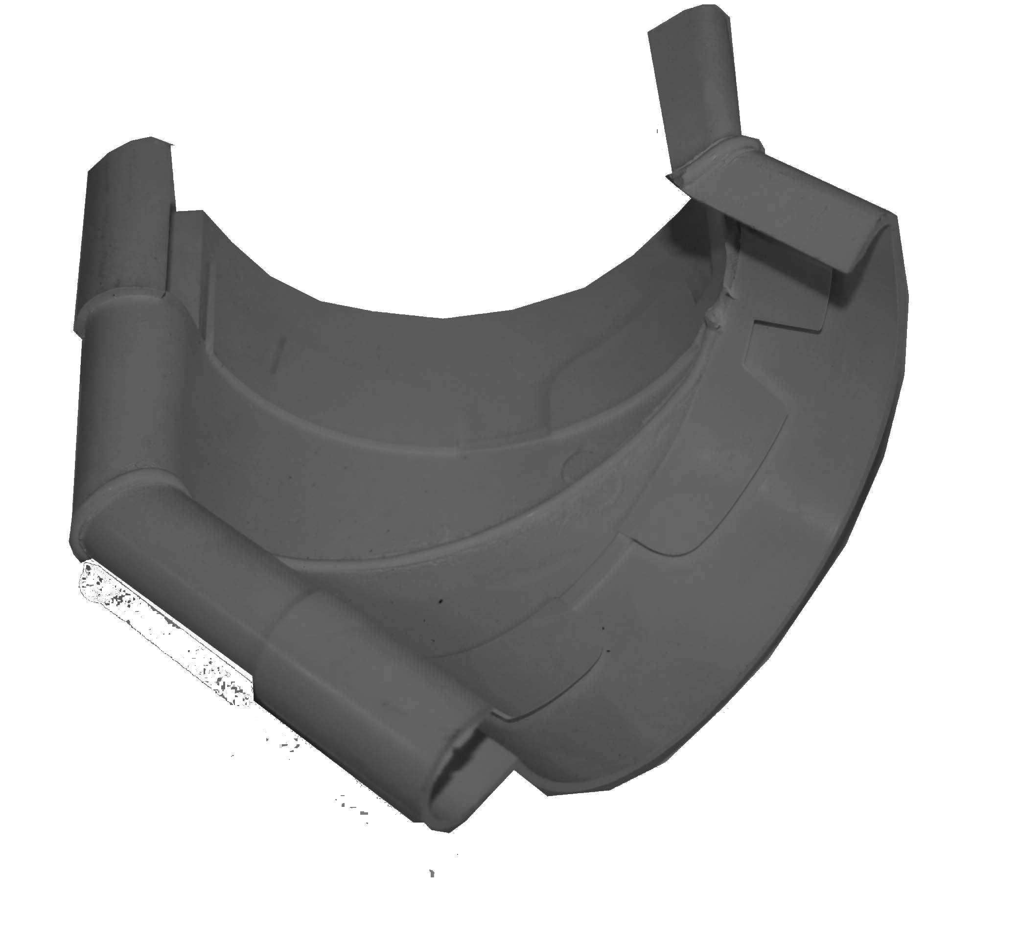 Dachrinnen Außenwinkel 135° TYP300 RG100 PVC anthrazit ...
