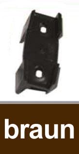 Dachrinnen Distanzkeil TYP200 RG70 TYP250 RG80 PVC braun Bild 1