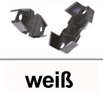 Dachrinnen Distanzkeil für Rinnenhalter TYP300 RG100 PVC weiß Bild 1