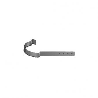 Dachrinnen Rinneisen RG 100 TYP M300 Stahl verzinkt dunkelgrau Bild 1