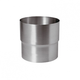 Fallrohrverbinder Zink 80 mm