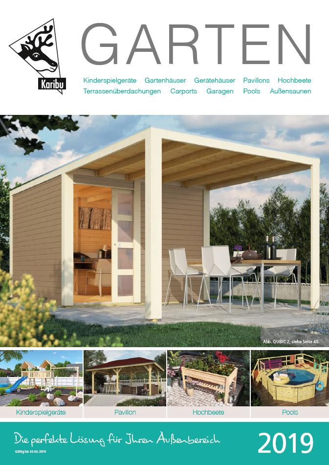 Katalog Karibu Garten 2019 Bild 1