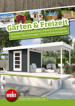 katalog weka gartenwelt 2017 bei. Black Bedroom Furniture Sets. Home Design Ideas