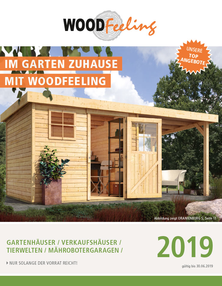katalog woodfeeling garten 2018 bei. Black Bedroom Furniture Sets. Home Design Ideas