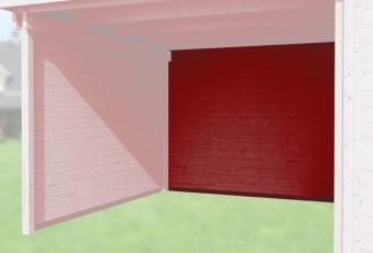 Weka Rückwand Anbau 150cm Designhaus 126 und 172 rot