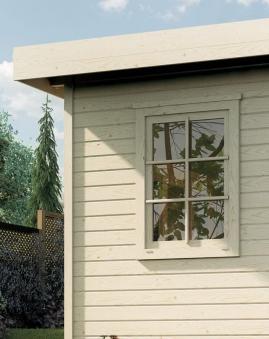 Gartenhausfenster Fides B 84 x H 113 cm