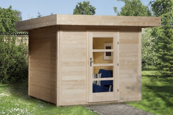 Gartenhaus 28mm weka Designhaus 172 Gr. 2 natur 280x378cm VD50cm Bild 1