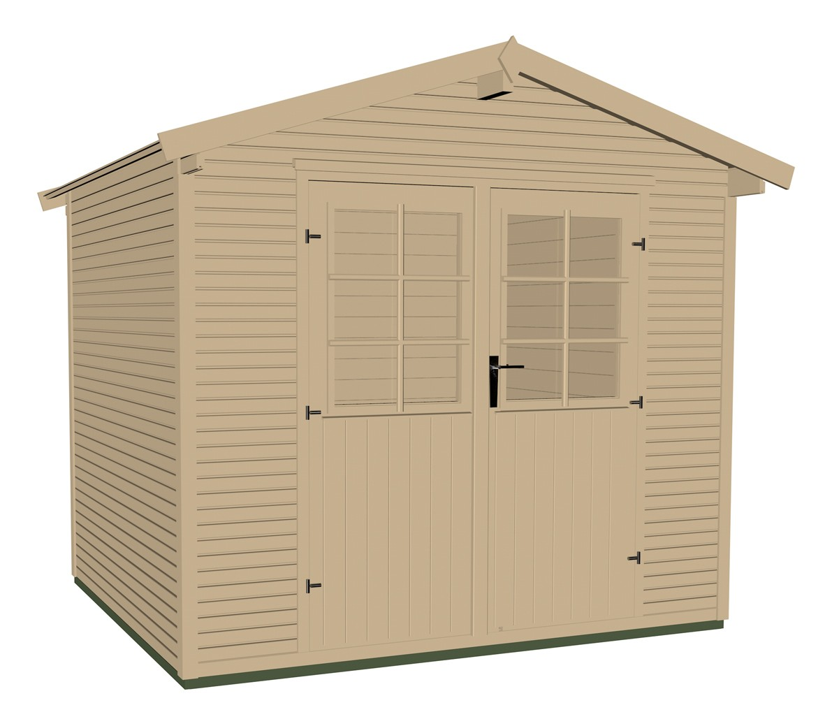 ger tehaus holz 28mm weka gartenhaus 218 gr 2 natur 320x235cm bei. Black Bedroom Furniture Sets. Home Design Ideas