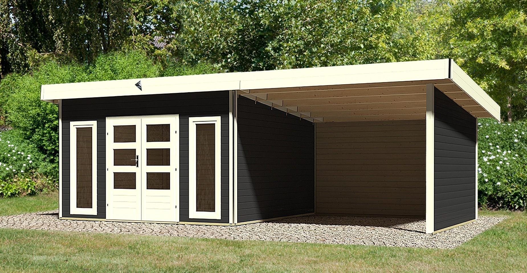 modern anbau der rote anbau wirkt frisch und modern. Black Bedroom Furniture Sets. Home Design Ideas
