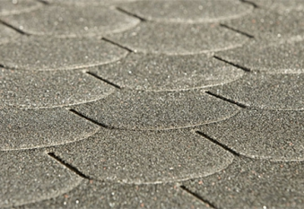 Biberschwanz Bitumen - Dachschindeln Weka anthrazit