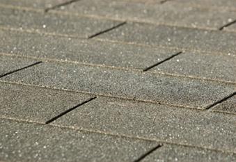 Bitumen - Dachschindeln Weka rechteckig anthrazit