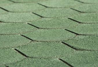 Bitumen - Dachschindeln Weka Biberschwanz vintage grün