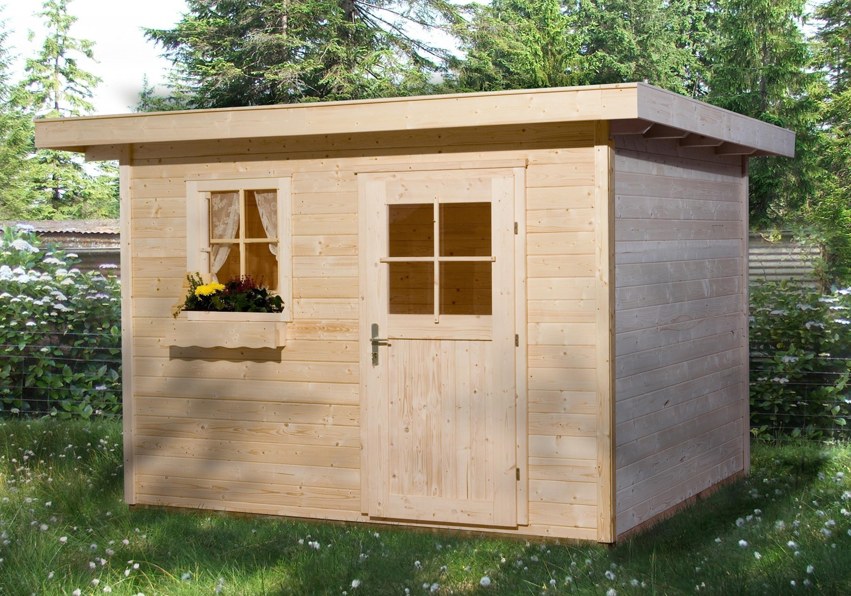 weka gartenhaus 28 mm 170 gr 3 natur 356x375cm vd 50cm. Black Bedroom Furniture Sets. Home Design Ideas
