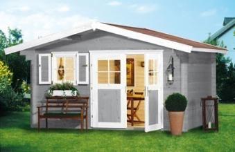 Weka Gartenhaus 28 mm Gartenhaus 111 Gr.1 natur 460x320cm Bild 4