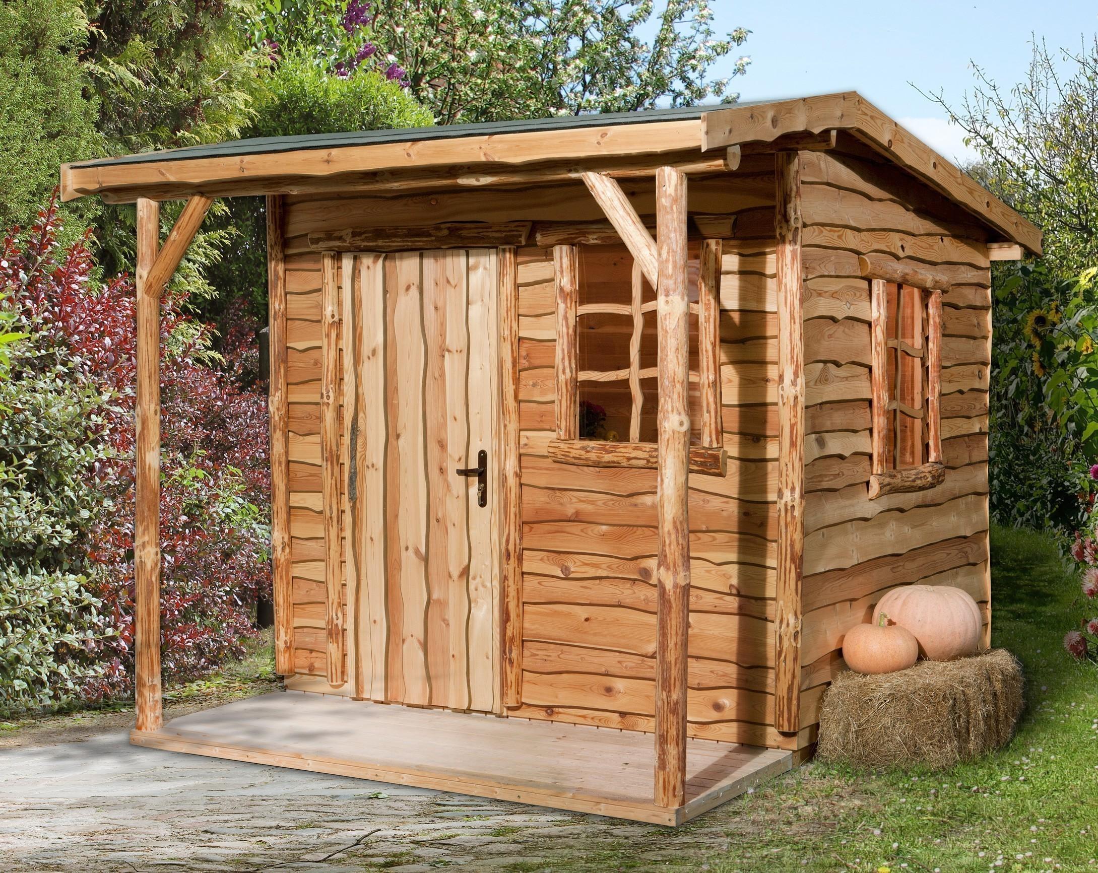 Weka Gartenhaus 820 Gr.2  340x400cm VD 100cm Bild 1