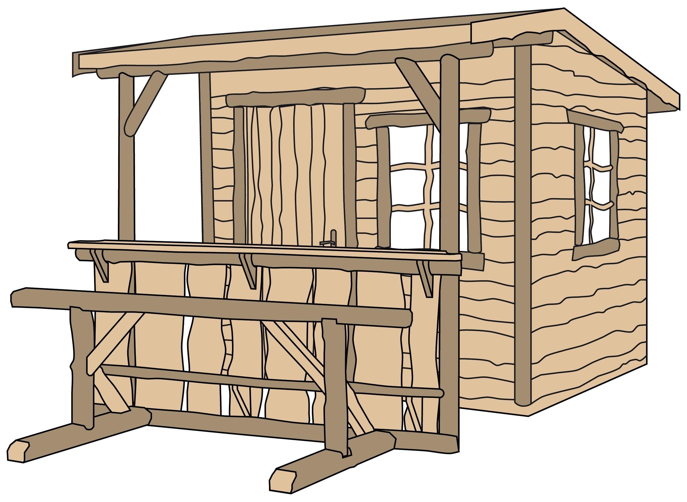 weka gartenhaus 820a gr 1 natur 240x310cm vd 100cm bei. Black Bedroom Furniture Sets. Home Design Ideas
