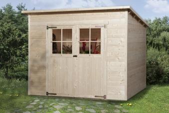 Weka Gerätehaus 19mm Gartenhaus 325 Gr. 3 natur 278x243cm Bild 1