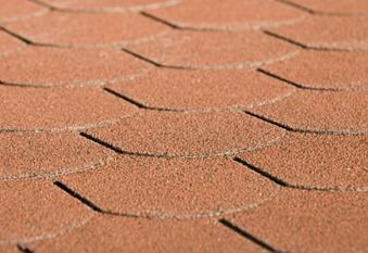 Biberschwanz Bitumen - Dachschindeln Weka rot