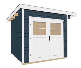 Weka Gerätehaus 28 mm Gartenhaus 179 Gr. 2 anthrazit 280x311cm Bild 1