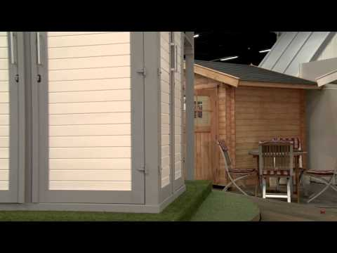 Weka Geräteschrank GartenQ Multi Gr.2 rot 210x210cm Video Screenshot 253