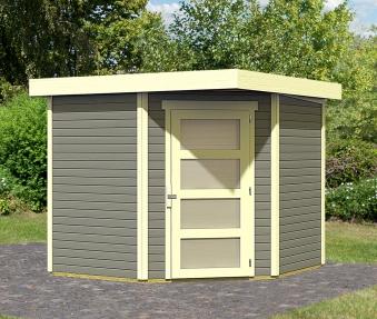 woodfeeling ger tehaus 19mm schwandorf 5 grau 266x267cm bei. Black Bedroom Furniture Sets. Home Design Ideas
