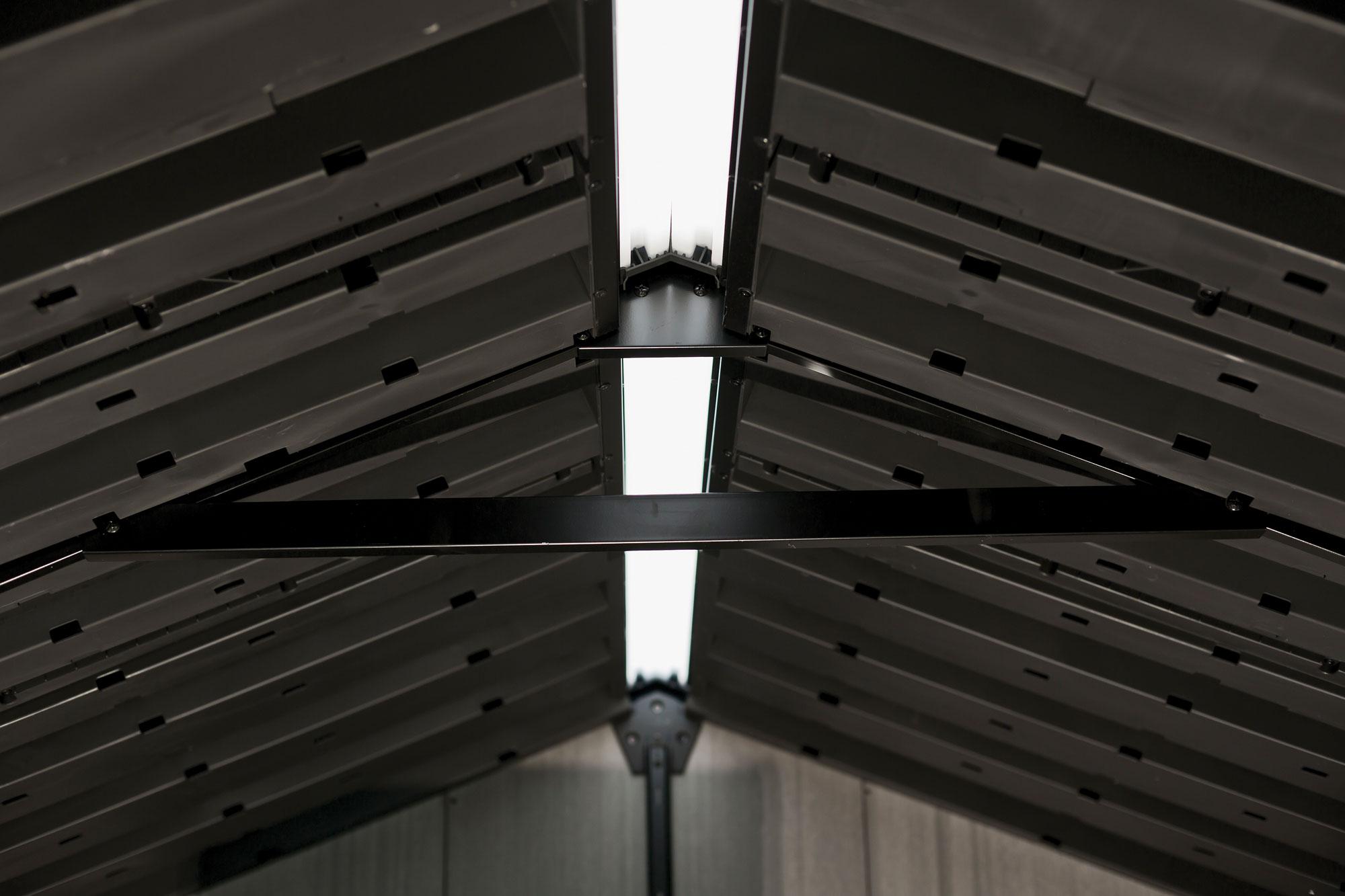 Keter DUOTECH Gerätehaus Oakland 1175 grau 350x229cm Bild 4