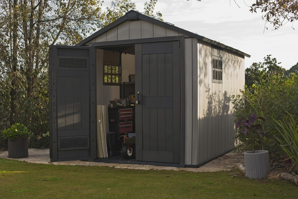 tepro kunststoff ger tehaus oakland 7511 grau 230x287cm bei. Black Bedroom Furniture Sets. Home Design Ideas