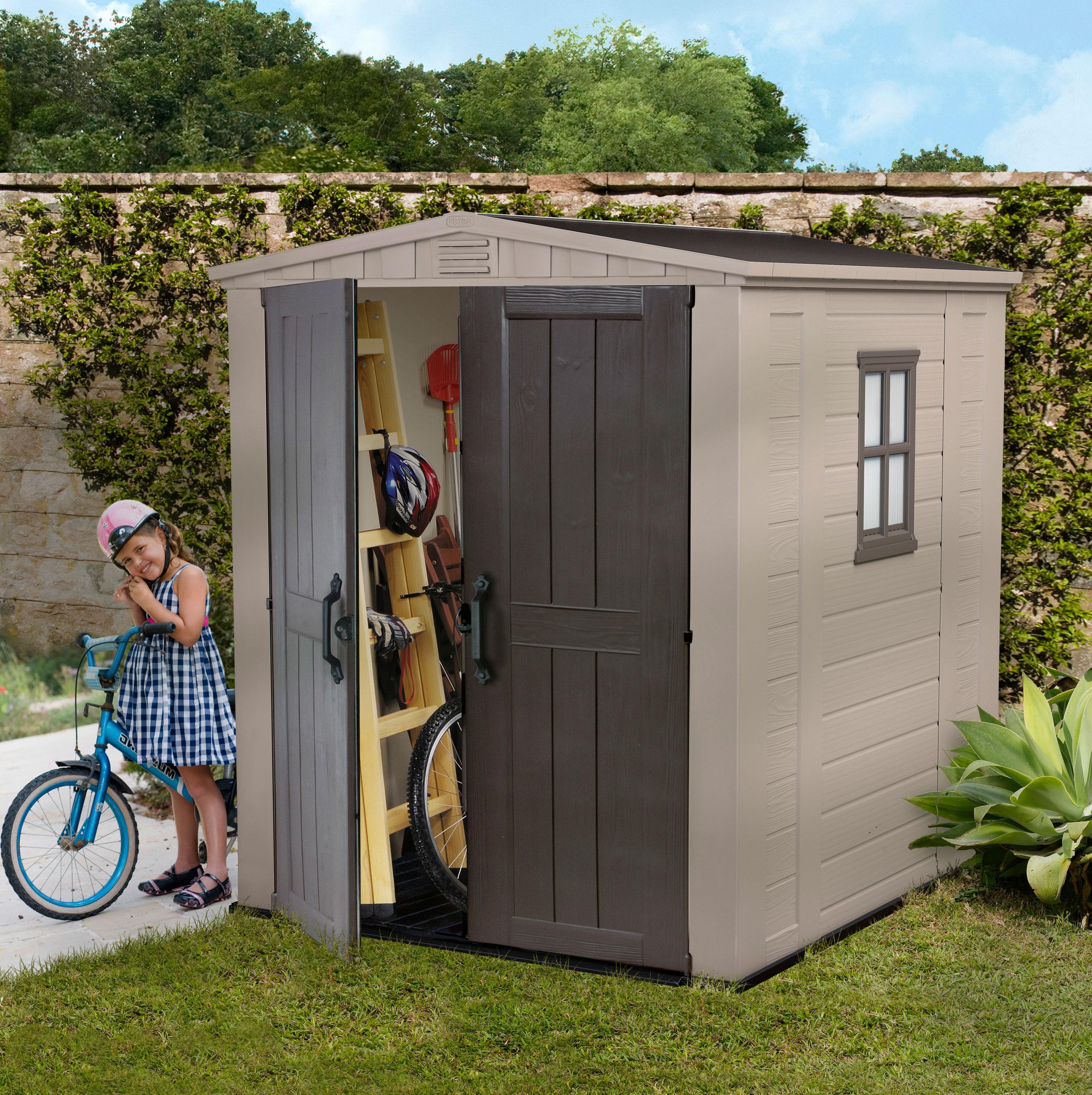 keter kunststoff gartenhaus manor pent 64 my blog. Black Bedroom Furniture Sets. Home Design Ideas