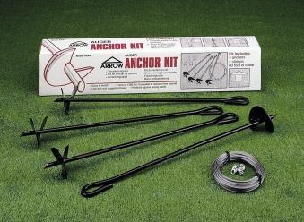 Verankerungs-Set AK4 für ARROW Metall-Gerätehaus