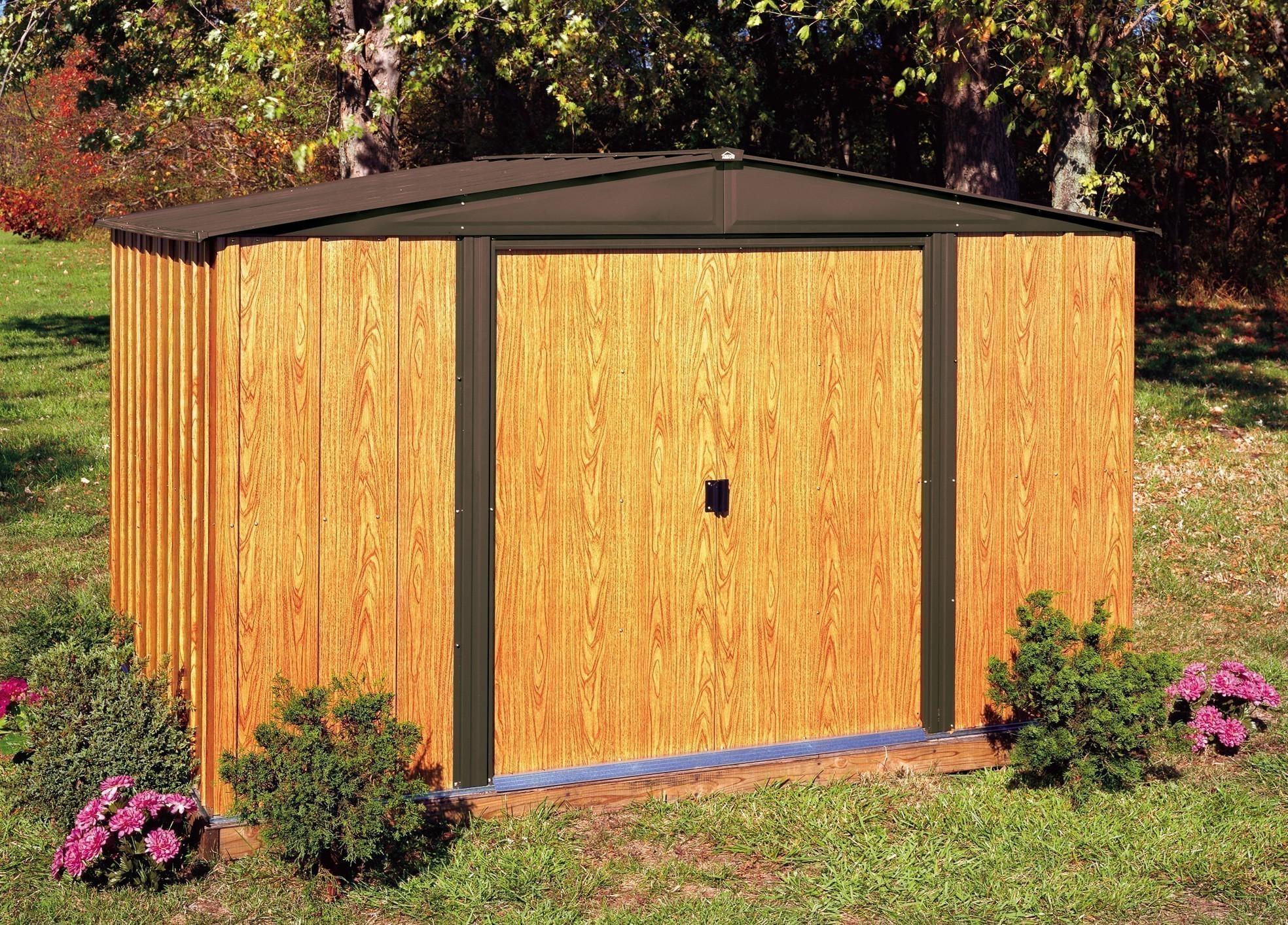 gertehaus metall affordable gertehaus gartenhaus metall with gertehaus metall obi gartenhaus. Black Bedroom Furniture Sets. Home Design Ideas