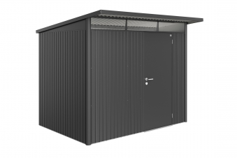 Gerätehaus Biohort AvantGarde Gr. L dunkelgrau-metallic 260x220cm Bild 1