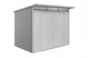 Gerätehaus Biohort AvantGarde Gr. L silber-metallic DT 260x220cm Bild 1