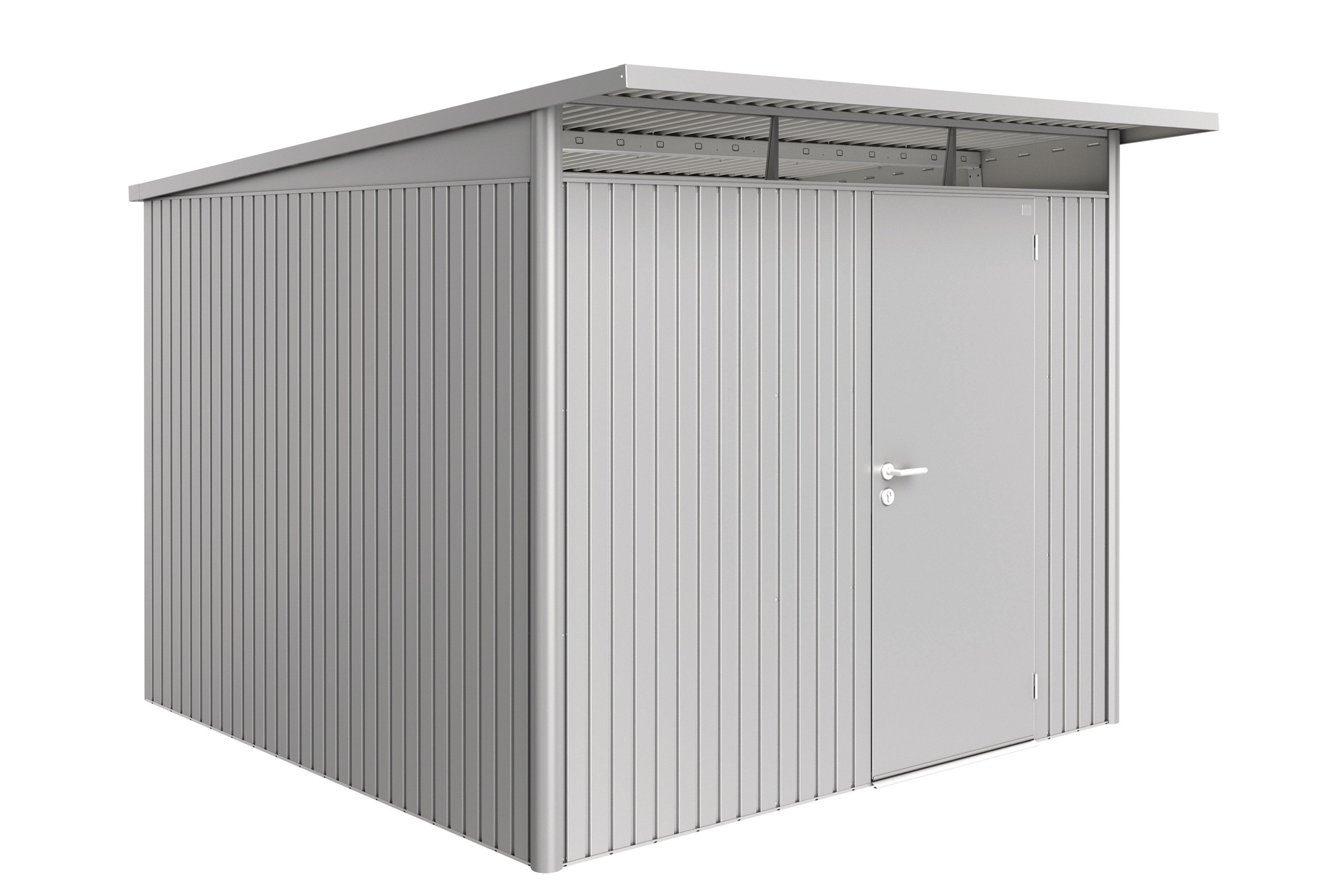 Gerätehaus Biohort AvantGarde Gr. XL silber-metallic 260x300cm Bild 1