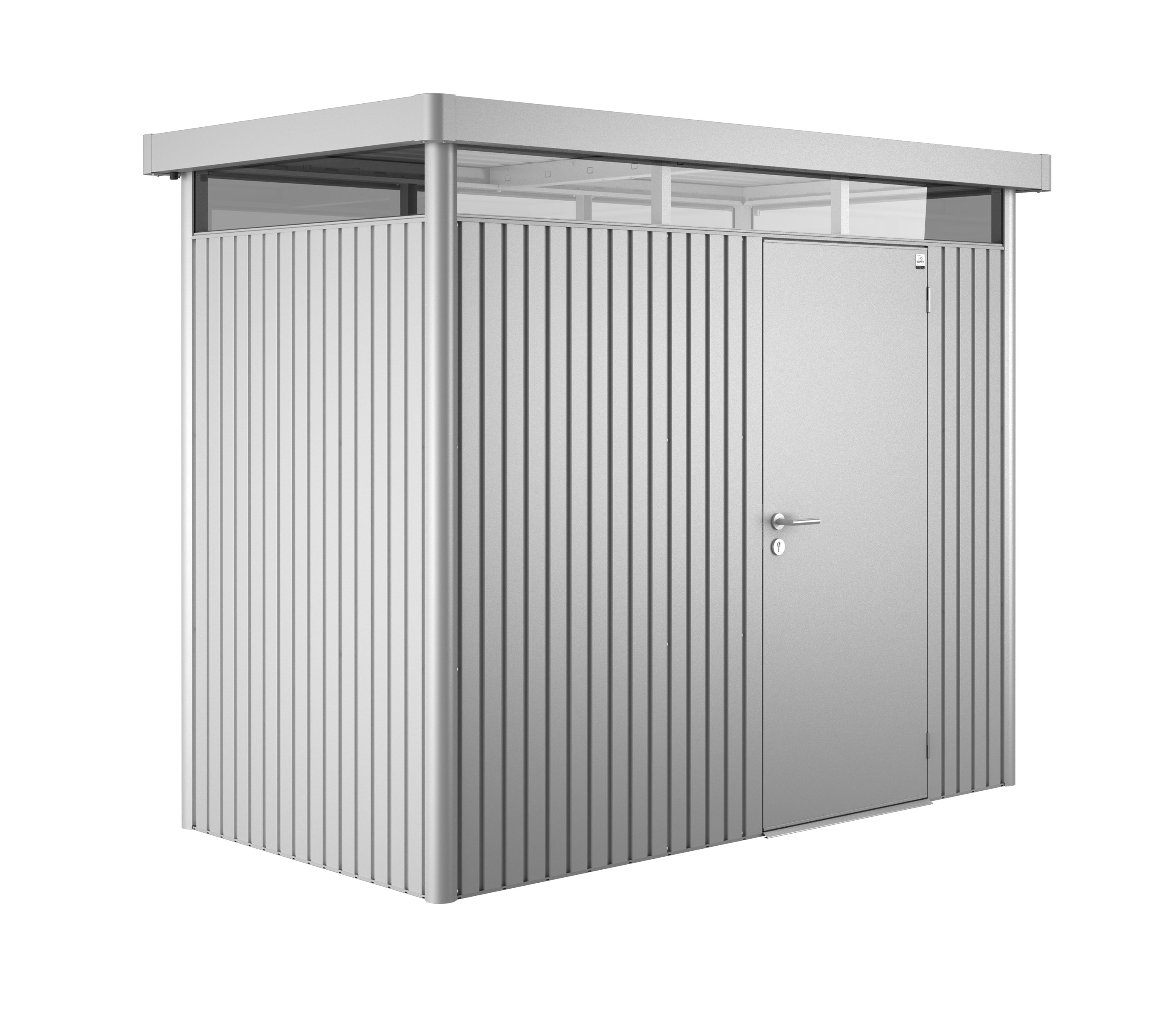 Gerätehaus Biohort HighLine H1 silber-metallic 275x155cm Bild 1
