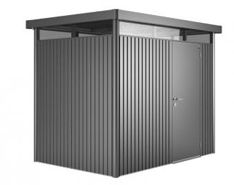 Gerätehaus Biohort HighLine H2 dunkelgrau-metallic 275x195cm Bild 1