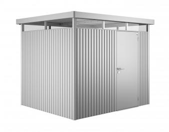 Gerätehaus Biohort HighLine H3 silber-metallic 275x235cm Bild 1