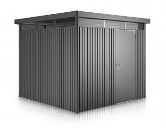 Gerätehaus Biohort HighLine H4 dunkelgrau-metallic 275x275cm Bild 1