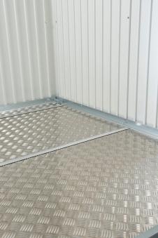 Bodenplatte Alu für Biohort Gerätehaus HighLine H5 243,5x283,5cm