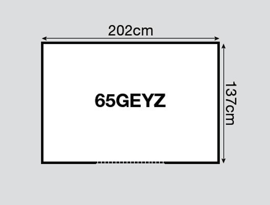 Yardmaster Metallgerätehaus Bayern 65 dunkelgrün 202x137cm Bild 2